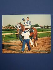 SECRETARIAT after winning the 1973 Preakness Stakes.