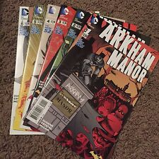 DC Comics Arkham Manor The New 52 ! #1-6 2014/2015 Complete Set Batman Rebirth