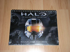Halo Master Chief Collection Multiplayer Map Book Brand New and Sealed