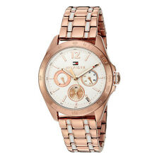 Tommy Hilfiger Original 1781666 Womens Rose Gold Stainless Steel Watch 36mm