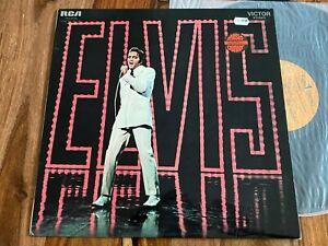 ELVIS PRESLEY - TV SPECIAL LP 740.579 FRENCH ORIGINAL 1969 LPM 4088 MINT