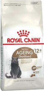 Royal Canin Senior Ageing Sterilised, Feline Care Nutrition Hairball Care