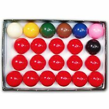 "Snooker Balls Standard 2 1/16"" Size Full 22 League Billiard Pool Regulation Set"