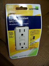 Leviton Renu Tamper Resistant Gfci Outlet Color: Navajo Sand # Reg15 New