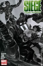 Siege Young Avengers #1 Black and White Variant (2010) Marvel Comics