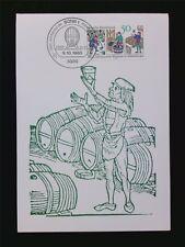 BUND MK 1980 WEINBAU WINE GRAPE WEIN VINE MAXIMUMKARTE MAXIMUM CARD MC CM c5897