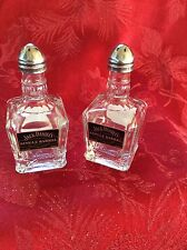Pair JACK DANIEL's Mini Liquor 50ml Bottles Upcycled SALT & PEPPER Shakers