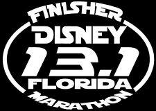 2018 or any year Disney Marathon Florida Decal Suit case,Car Window