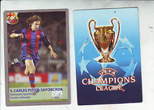 RARE CARD UEFA CHAMPIONS LEAGUE 2005-2006 - CARLES PUYOL - FC BARCELONA
