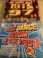 40 giant hits 97  plus best dance 95cassette