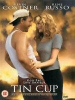 Tin Cup - Kevin Costner, Rene Russo, Ron Shelton NEW SEALED UK REGION 2 DVD PAL