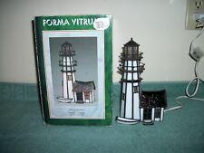 1993 Forma Vitrum Carolina Stained Glass Lighthouse No Slh41A 74 Pieces Of Glass