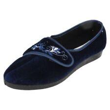 Zapatillas de andar por casa de mujer de color principal azul