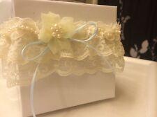Delicate handmade wedding garter ;Lace wedding,Bohemian wedding