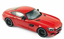 2015 MERCEDES AMG GT RED 1/18 DIECAST MODEL CAR BY NOREV 183496