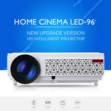 NEW 3D LED 5000 Lúmenes Proyector HDMI HD 1920*1080 Home Teatro TV VGA AV USB EU