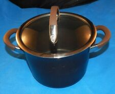 Circulon, 4Qt. Bronze Nonstick 2 Handled, Hard-Anodized Stockpot w/Original Lid