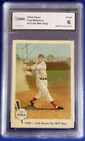 1959 Ted Williams Fleer # 13  Graded Card