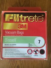 Filtrete 3M Vacuum Bags Bissell & Open box 2 Bags Micro allergen
