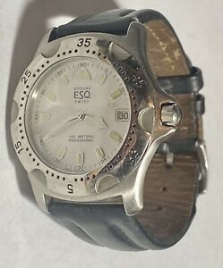 ESQ Mens Stainless Steel Watch E3687