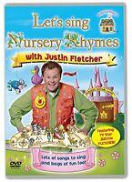 Lets Sing Nursery Rhymes With Justin Fletcher [DVD][Region 2]