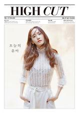 HIGH CUT VOL.177 Girls Generation SNSD Yoon-A Korean Magazine tube case
