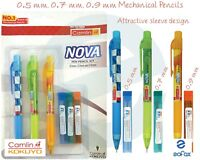 Pack of 10 Pencils x 3 Kokuyo Camlin Supreme Triangular RT Pencil