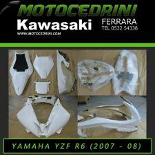 Yamaha YZF-R6 2007-2008 Kit Carene Pista Racing Vetroresina