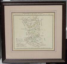 Gravure - P.G. Chanlaire - Carte du département des Deux-Sèvres. Début XIXE s