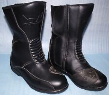 Bottes moto ALL ONE Yukon cuir taille 40 noir neuf