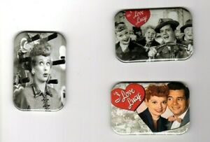"""I LOVE LUCY   3 REFRIGERATOR MAGNET  2"""" X 3""""  WITH ROUNDED CORNER"""
