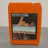 Ferrante & Teicher - Play The Hit Themes - 8 Track Tape - UA - Vintage