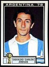 Argentina 78  Osvaldo Carlos Ardiles #99 World Cup Story Panini Sticker (C350)