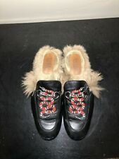 Gucci Princetown Kingsnake Slippers Men's Size 9