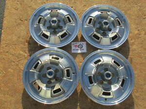 """1967, 68, 69 PLYMOUTH BARRACUDA, VALIANT 14"""" WHEEL COVERS, HUBCAPS SET OF 4 RARE"""