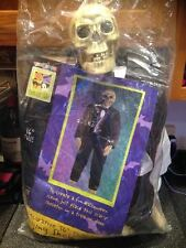 3 FT Halloween Hanging Skeleton Ghoul Greeter Deluxe Figure Party Prop New Pkg