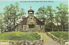 Our Lady of the Lake Chapel in Lake Ozark MO Postcard