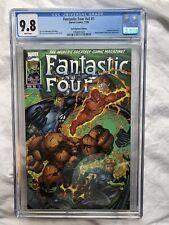 FANTASTIC FOUR V2 #1 GOLD SIGNATURE EDITION 1996 CGC 9.8 HIGHEST GRADED JIM LEE