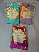 New ~ McDonald's Happy Meal Toy Lot - Disney Extremely Goofy Movie (#5, #8, #7)