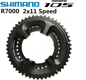 New Shimano 105 R7000 2x11 22-Speed Road Bike Double Chainring 50-34T With Bolts