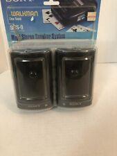 Vintage Sony SRS-9 Walkman Speaker System Pair
