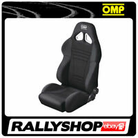 OMP STRADA Black Reclining Seat Road Car Street CHEAP DELIVERY