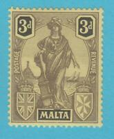 MALTA 106  MINT NEVER HINGED OG *  NO FAULTS VERY FINE !