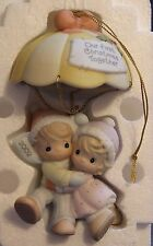 "2002 Precious Moments ""Our First Christmas Together"" Ornament"