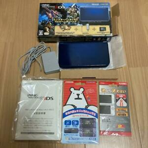 New Nintendo 3Ds Ll Substance Monster Hunter 4G Limited Edition