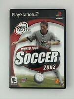 World Tour Soccer 2002 - Playstation 2 PS2 Game - Tested