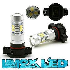 2x LED PW24W PSX24W BIRNEN 21X 2835 SMD Xenon Weiß Tagfahrlicht Standlicht