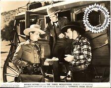 Robert Livingston, Yakima Canutt still COWBOYS FROM TEXAS (1939) 3 Mesquiteers