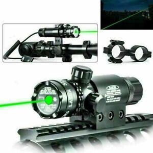 Tactical Scope Laser Sight Red Green Dot For Airsoft Gun Rifle Pistol Hunting
