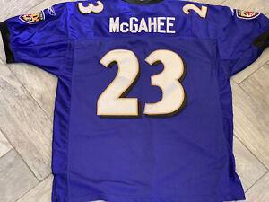 Reebok NFL Baltimore Ravens McGahee #23 Stitched Football Jersey 54 Free Ship!